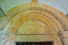 The Norman south doorway and tympanum