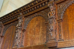 Gallery panelling detail