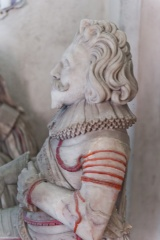 Effigy of Sir Henry's son