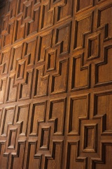 Jacobean carved panelling