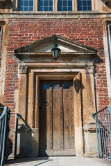 The east door of Shaw House