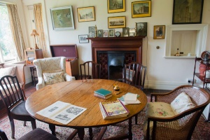 The sitting room table