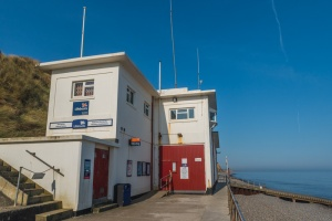 The RNLI lifeboat station