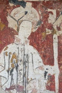 Archbishop wall painting