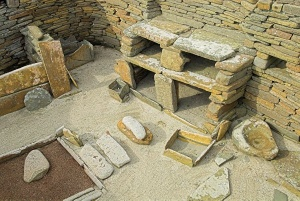 Skara Brae hut interior