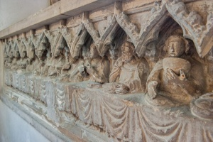 1400 Last Supper reredos
