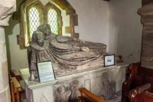 The 16th century Warren altar tomb