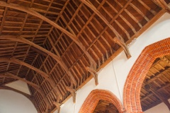 16th c hammer beam roof