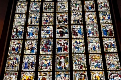 The east window medieval glass