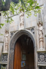 The north porch and parvise