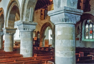 The Norman nave arcades