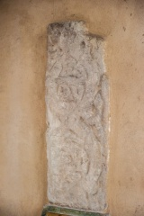 9th century Saxon cross fragment