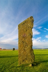 Stones of Stenness, morning light