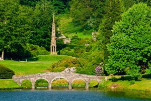 Stourhead Palladian Bridge and Bristol Cross
