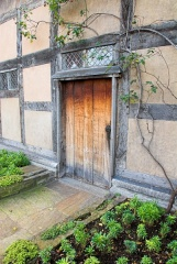 The garden door at Shakespeare's Birthplace