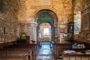 Looking towards the chancel arch