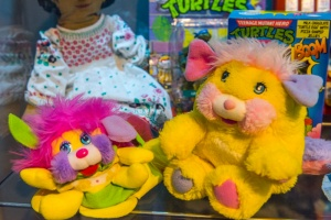 Childrens' plush toys