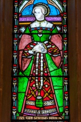 Katherine Parr stained glass window