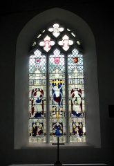 Cavell memorial window, Swardeston church (c) Evelyn Simak