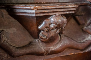 The 'big nose' misericord