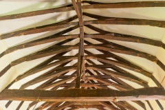 15th century crown-post roof in the nave