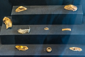Staffordshire Hoard gold pieces