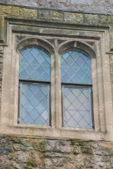 Mullioned Tudor window