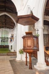 1680 pulpit and sounding board