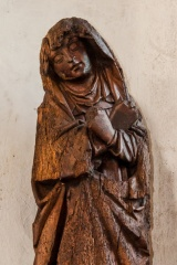 14th century Madonna carving