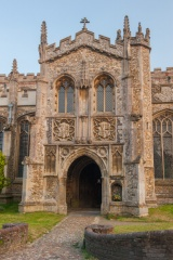 North porch of St John's church