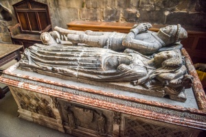 Sir Thurstan de Bower and Lady Bower tomb, 1395