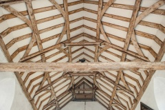 12th century roof timbers