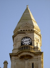 The town hall clock tower (c) Neil Owen