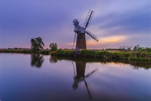 Turf Fen windmill, Norfolk Broads