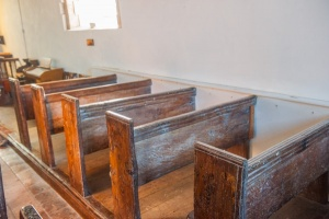 The 17th century benches
