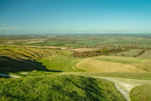 Uffington White Horse and the Vale