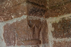 12th century capital, south doorway