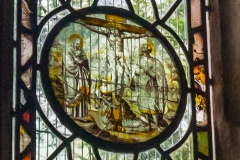 Flemish glass detail