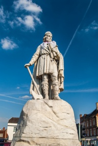 Alfred the Great statue in the market place