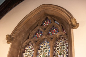Perpendicular style east window