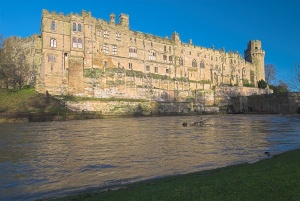 Warwick Castle from the river