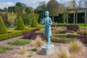 Statue in Waterperry Gardens