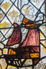 Isabel Curson stained glass panel