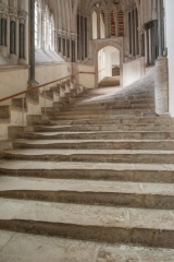 Chapter House stairs