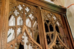 15th century screen tracery