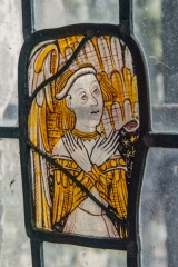 Medieval stained glass, chancel