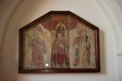 13th century painted wooden panels