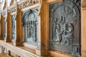 The 16th century carved reredos