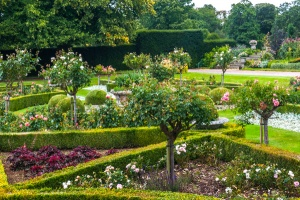 The formal parterre