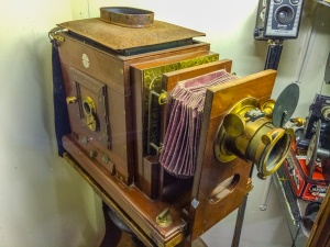 Historic large format camera